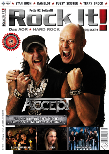 Heft 59 (ACCEPT) inkl. CD-Sampler