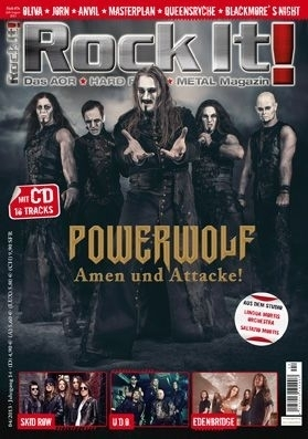 Heft 76 (POWERWOLF) inkl. CD-Sampler