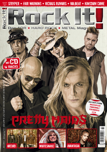 Heft 75 (PRETTY MAIDS) inkl. CD-Sampler